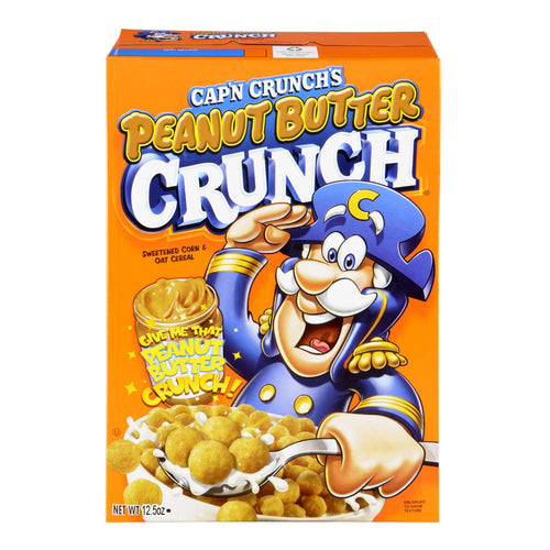 Cap'n Crunch Peanut Butter 12.5OZ