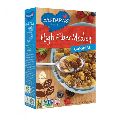Barbara's Bakery High Fiber Cereal, Original, (12oz)