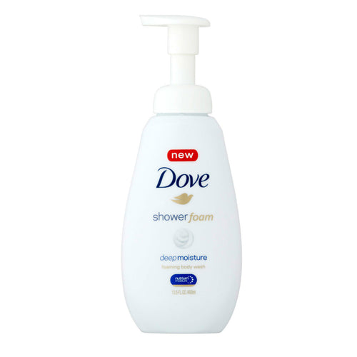 Dove Shower Foam Deep Moisture Foaming Body Wash (13.5 fl oz)