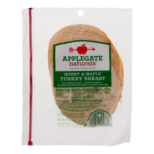 Applegate Naturals Honey & Maple Turkey Breast (7oz)