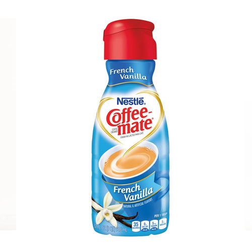 CoffeeMate French Vanilla Creamer (32oz - Liquid)