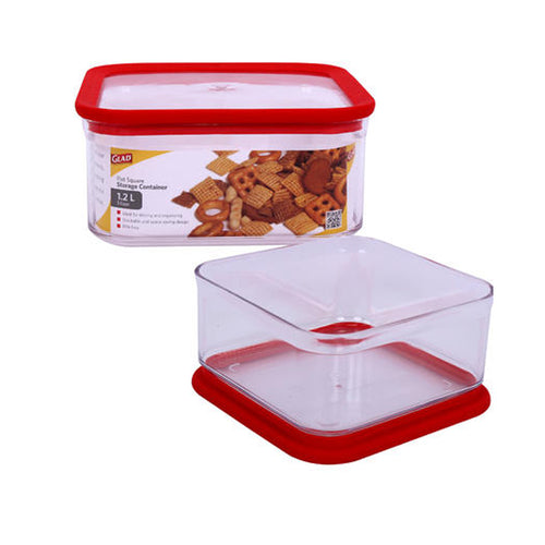 Glad Square 5-Cup Food Container (1.2L)