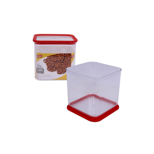 Glad 11-Cup Square Storage Container (2.65L)