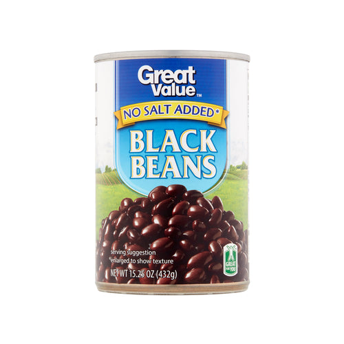 Great Value Black Beans (15.25 oz)