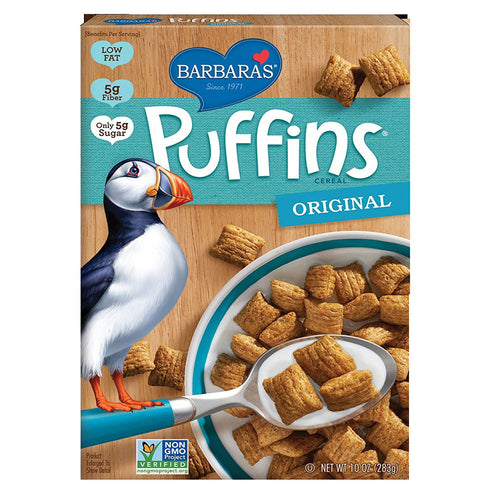 Barbara's Bakery Puffins Original 10oz