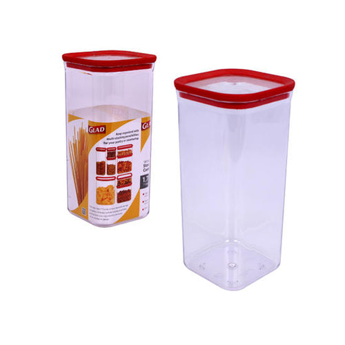 Glad 7-Cup Tall Square Storage Container (1.7L)
