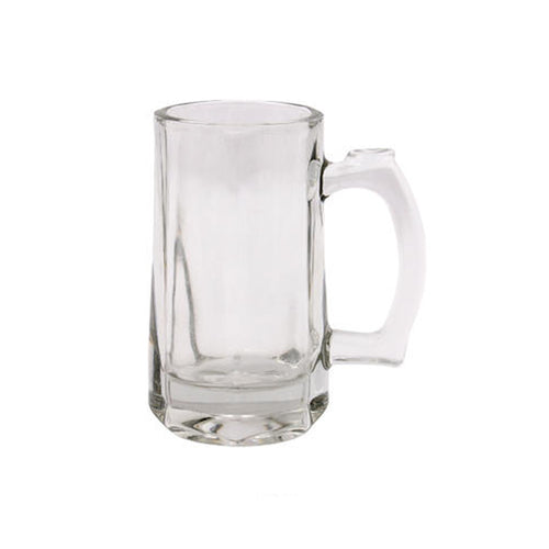 Clear Glass Beer Mug (10.5oz)