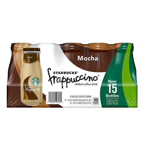 Starbucks Frappuccino Coffee Drink (9.5oz, 15 pk.)