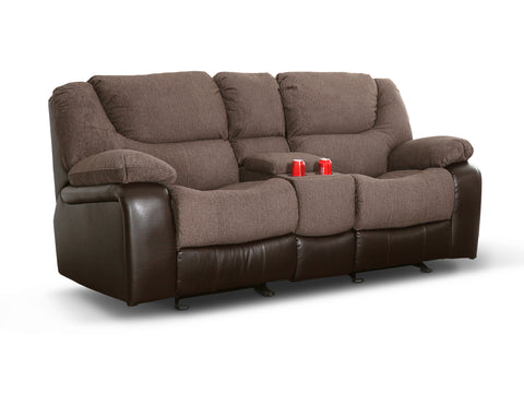 LOVESEAT BARNABY C/RECLINER