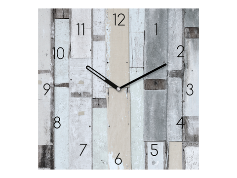 RELOJ PARED PLAYA 55X55CM