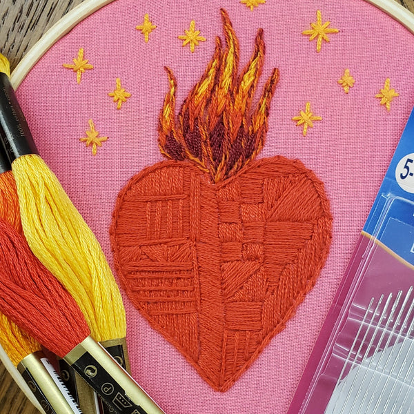 Beginning Embroidery Workshop