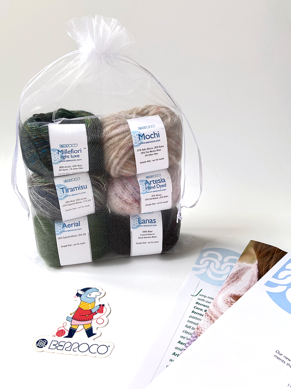 Berroco Home Yarn Tasting Kit