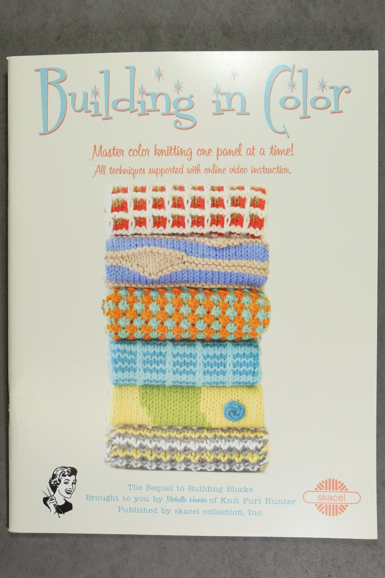 Building In Color Book – The Knitting Tree, L.A.