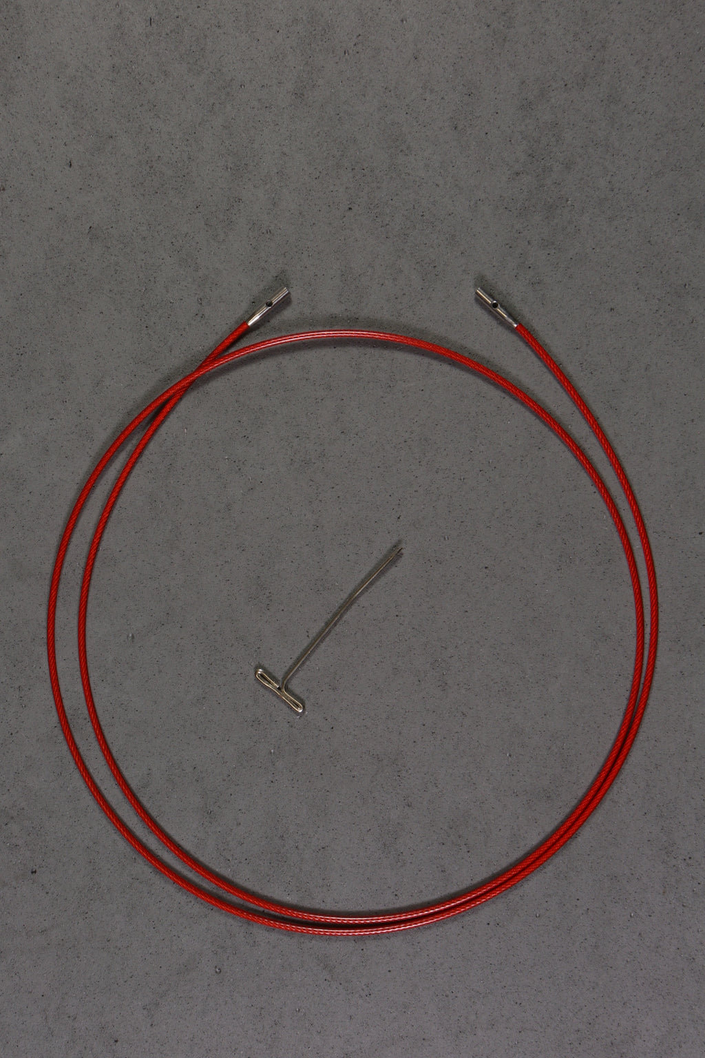 "Chiaogoo 37"" TWIST Red Cables"