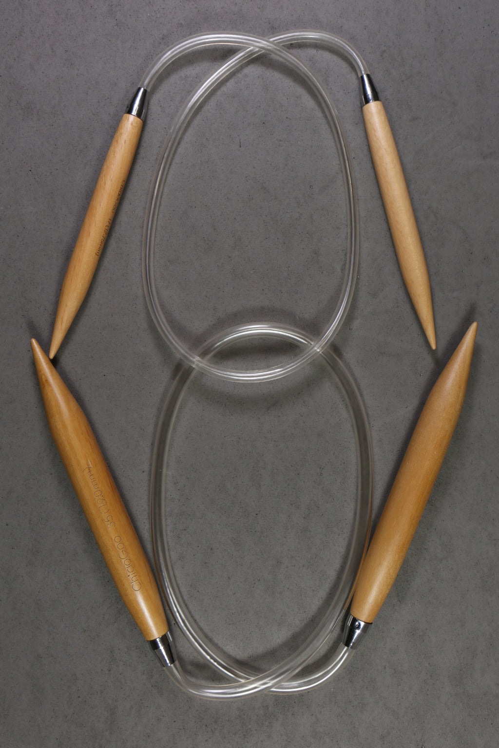 "Chiaogoo 24"" Wood Circular Needles"