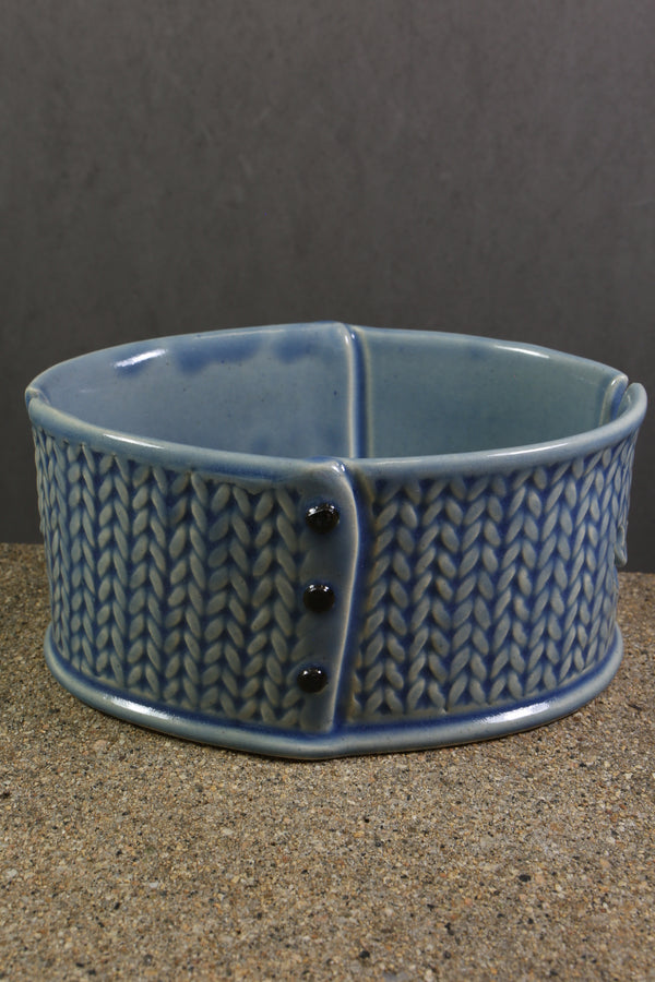 Creative With Clay Knitted Yarn Bowl