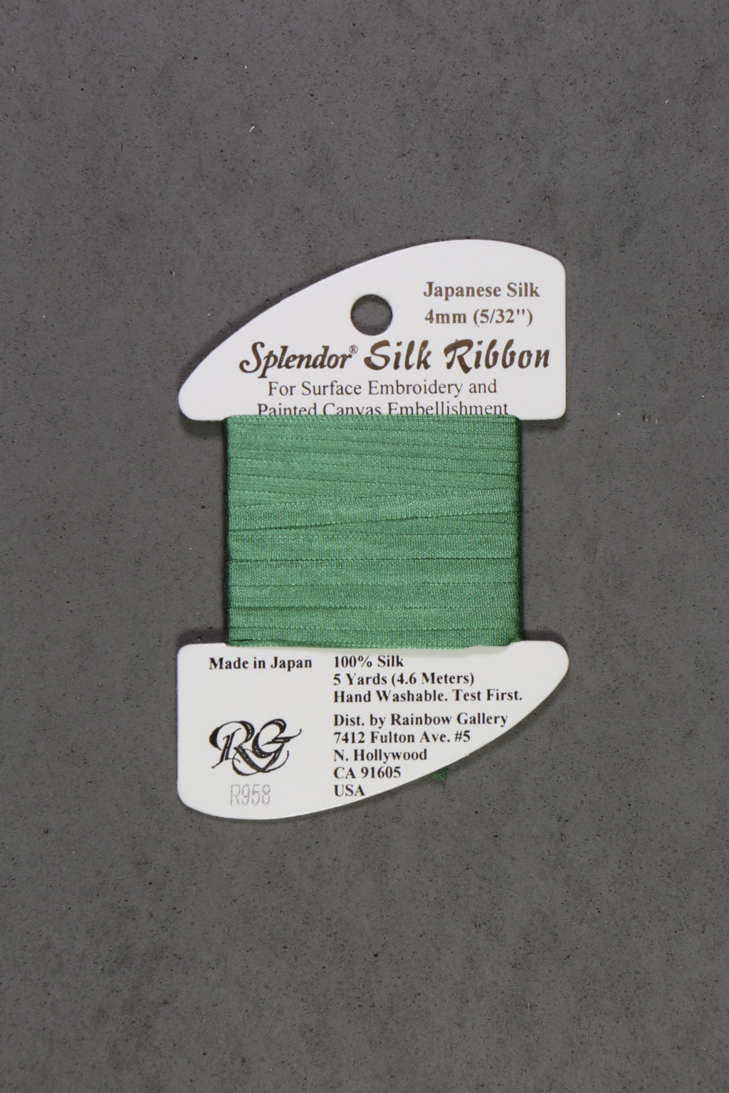 Splendor Silk Ribbon Solids