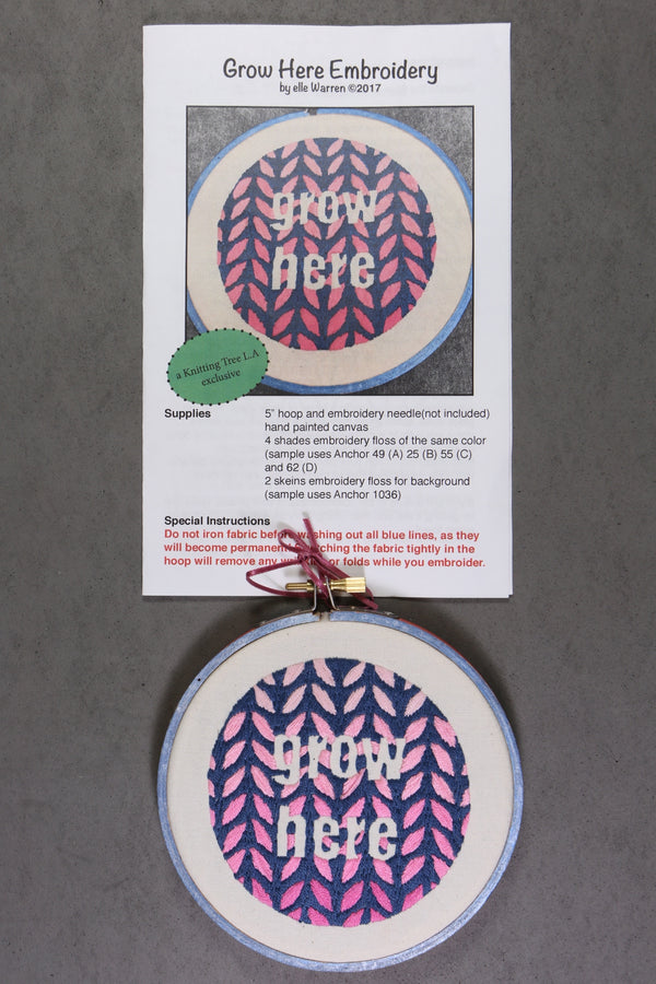 Elle Warren Embroidery Kits