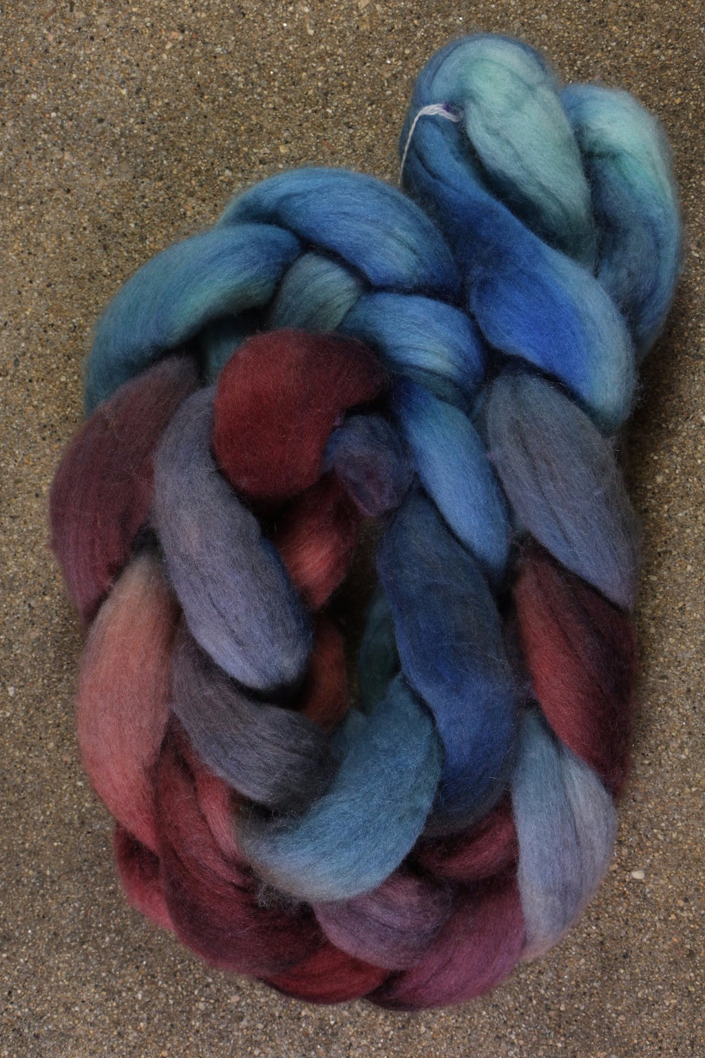 Happy Fuzzy Yarn Polwarth Combed Top