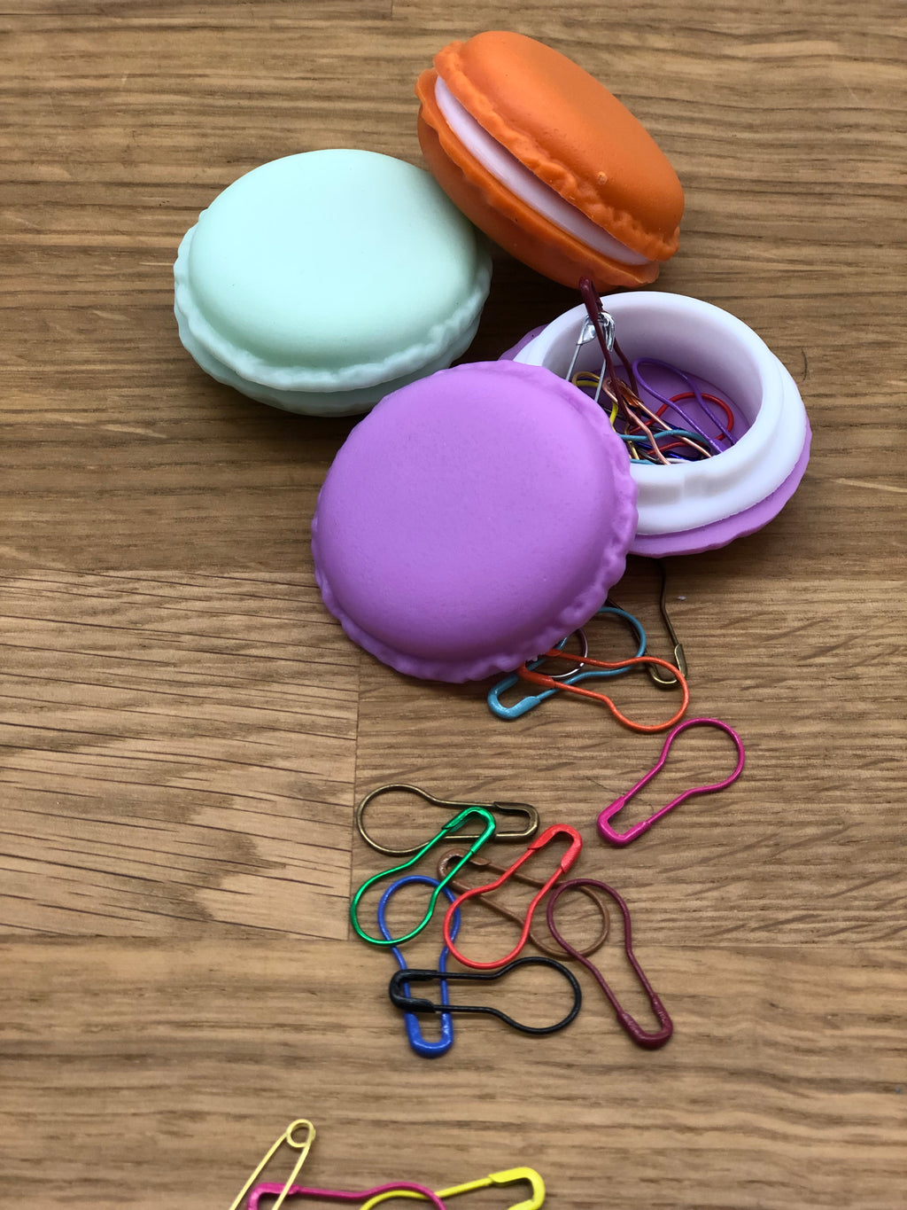Macaroon Stitch Markers