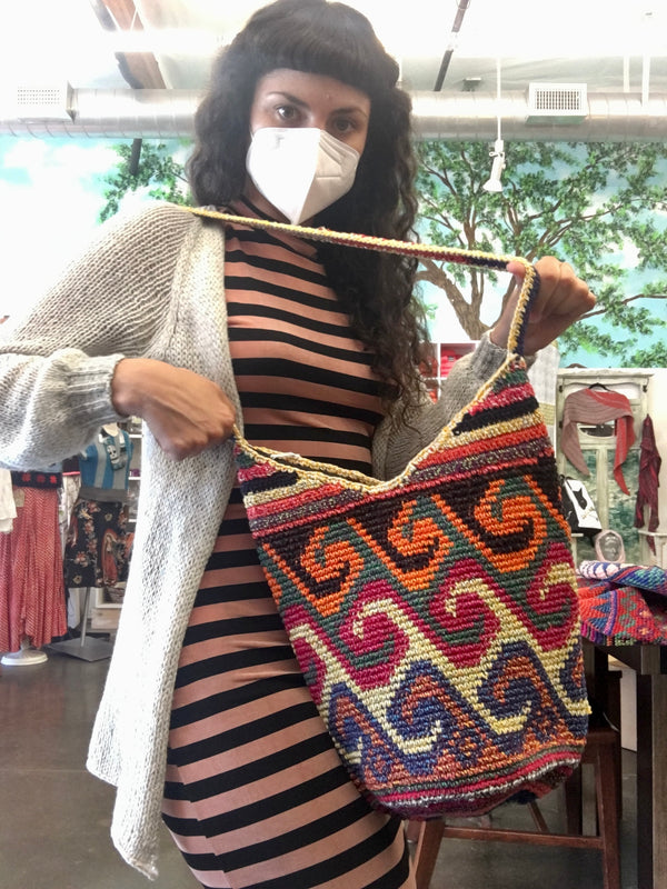 Eliza Crocheted Bag - Fair Trade!