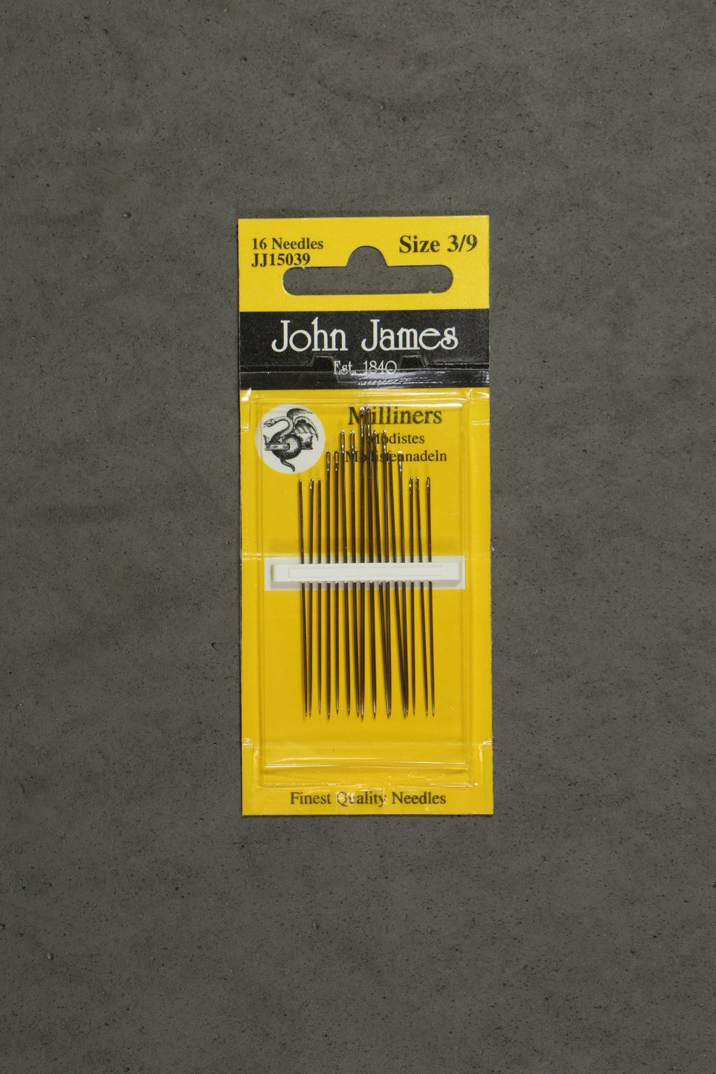 John James Milliners Embroidery Needles