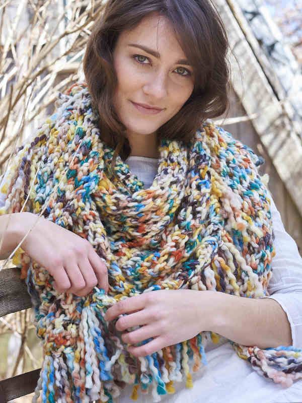 Berroco Papavero Shawl Kits