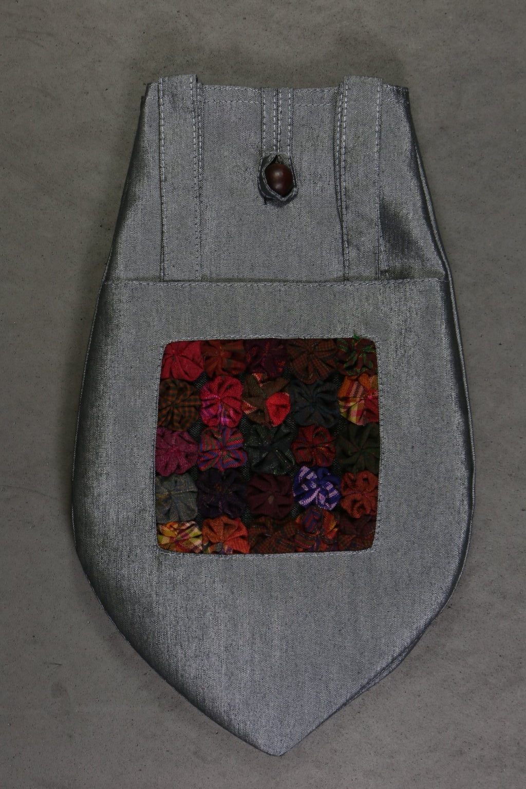 Plymouth Hand Made Accessories Collection Silk Project Bag Yo-Yo