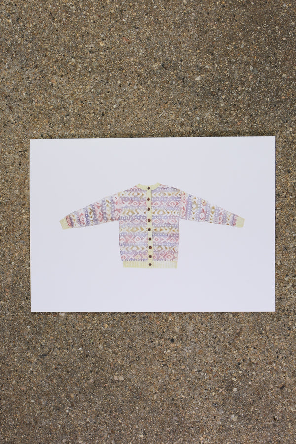 Rowan Morrison XOXO Sweater Greeting Card