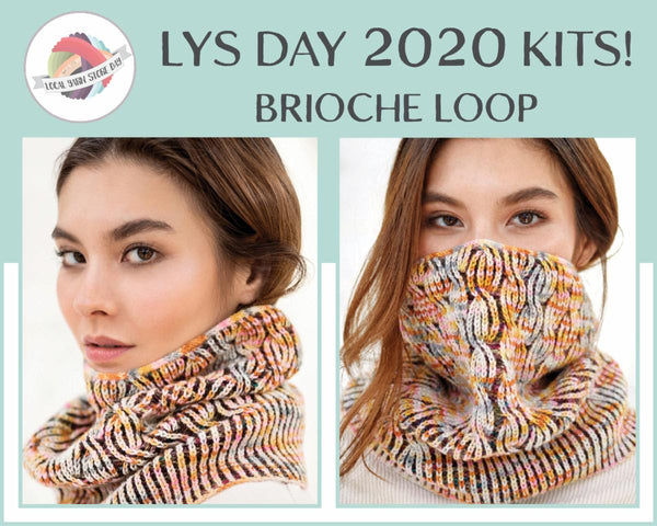 Trendsetter LYS Day Brioche Loop Kits