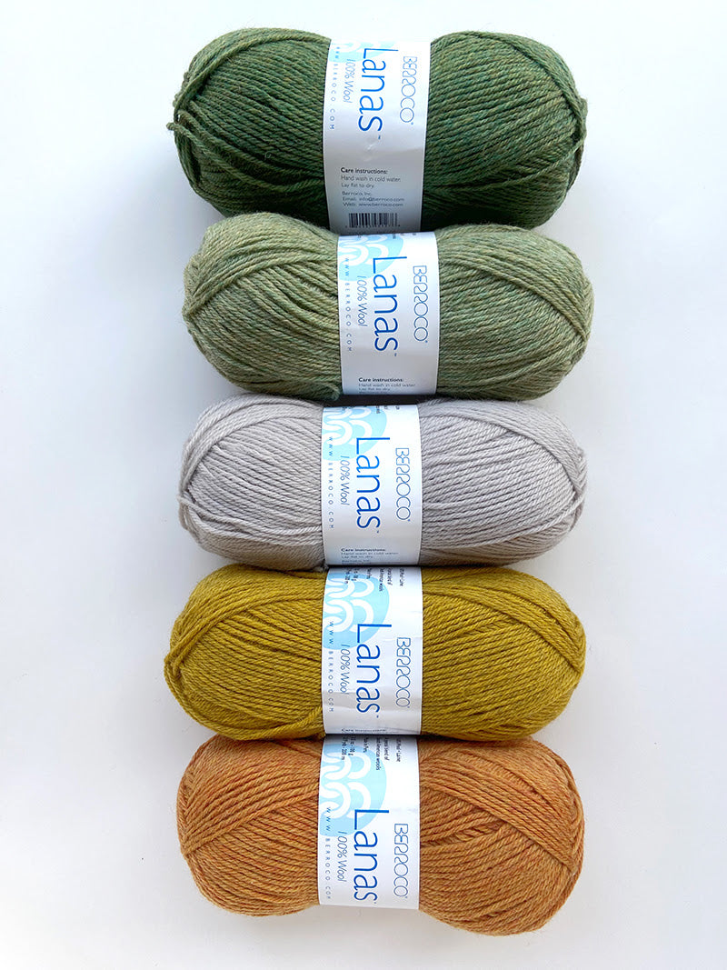 Berroco Fern Lake Blanket Kit
