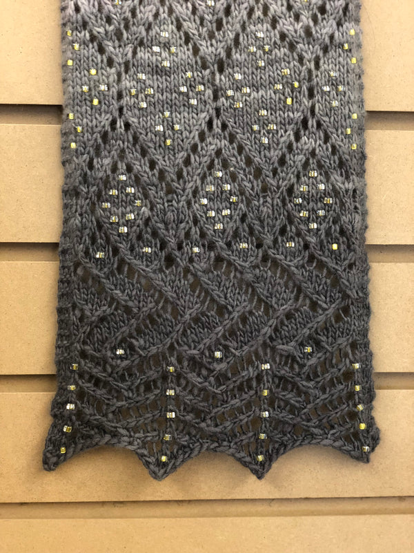 Beaded Lace from Charts with Melissa R