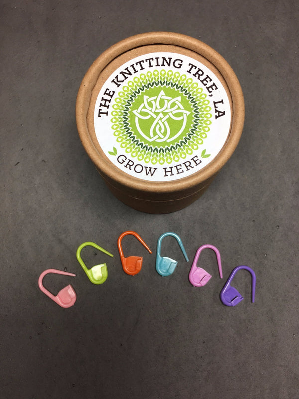 The Knitting Tree, L.A. Lotus Locking Stitch Markers