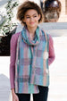 Lana Grossa Summer Tweed Drop Ridge Scarf/Wrap Kit