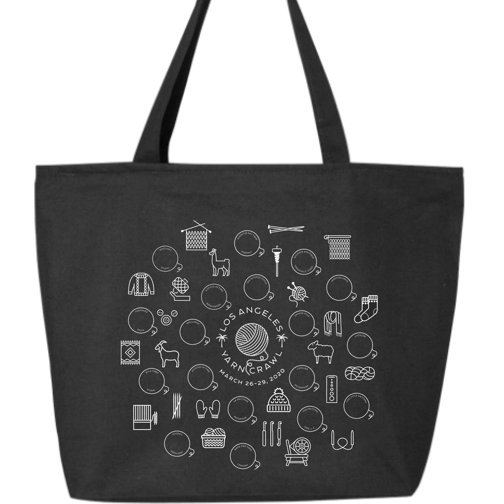 Yarn Crawl Tote Bag