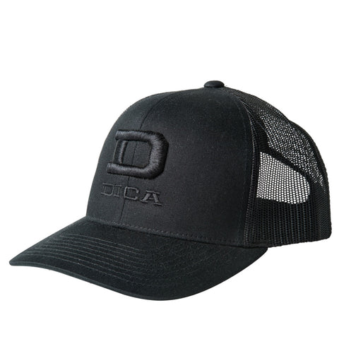 DICA Trucker Snapback Hats (black)