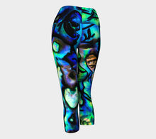 Agstract Apparel - Yoga Capris - Yoga, sport, athletic custom printed leggings. Compression fit women's leggings for active or everyday wear.