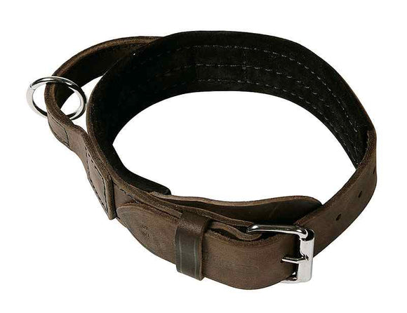 KLIN LEATHER WORK COLLAR WITH HANDLE