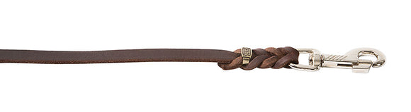 KLIN SOFT LEATHER LEASH 4.5FT LONG 1/2