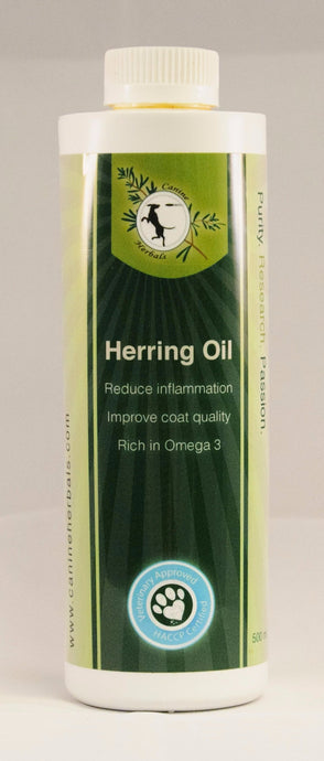Herring Oil 500 ml Liquid