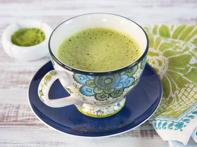 Soursop Matcha Green Tea Latte Recipe