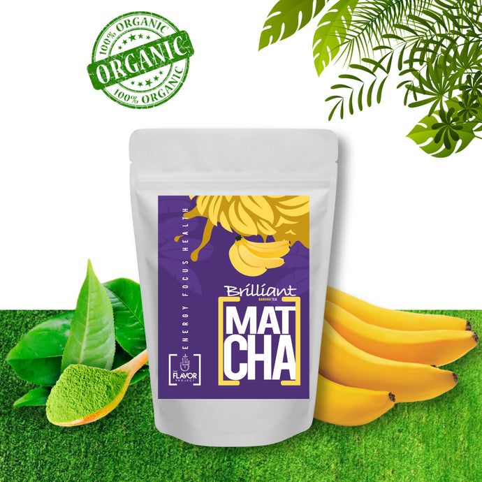 Banana Matcha Green Tea Powder | The Soursop Tea
