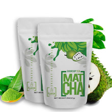 4oz SOURSOP TEA POWDER - MATCHA (70 Servings) | The Flavor Project