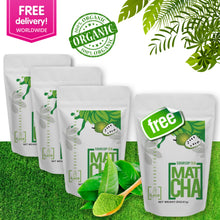 FREE Shipping 3 Pack Soursop Matcha Tea Powder + 1 FREE Pack (8 Oz - 140 Servings) | The Soursop Tea