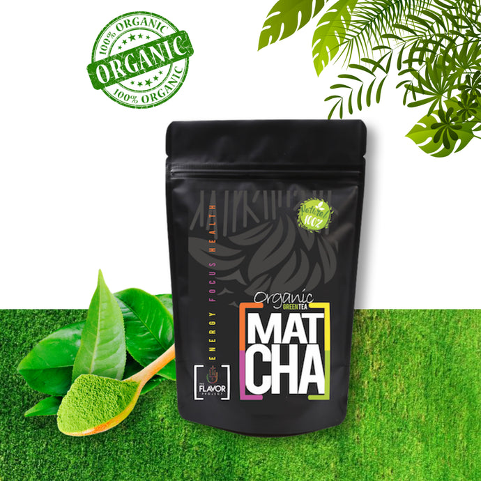 100% Natural Organic Ceremonial Matcha Green Tea Powder - 2oz (35 Servings) | The Flavor Project