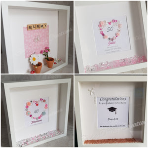Personalised Box Frames