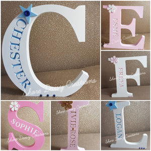 Personalised Freestanding Engraved Letter