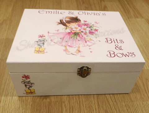 Personalised 'Bits & Bows' Box