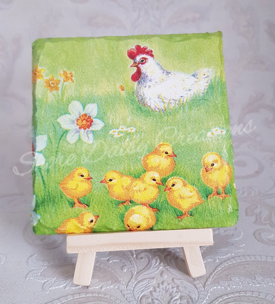 Easter Themed Coasters set of 4