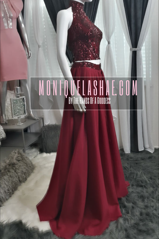 2pc Gown